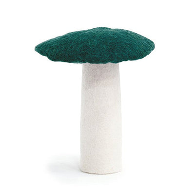 Muskhane | Wool Mushroom | Duck Blue Dark Green Teal