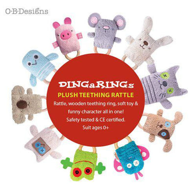 OB Designs Dingarings Baby Toys