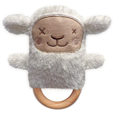 O.B. Designs Baby Toy | Sheryl Sheep | Teething Ring & Rattle