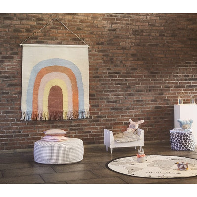 OYOY | Follow The Rainbow | Woven Wall Rug Tapestry