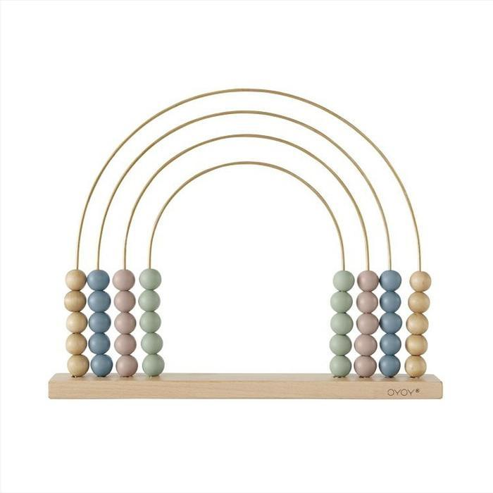 OYOY | Wooden Toy | Rainbow Abacus