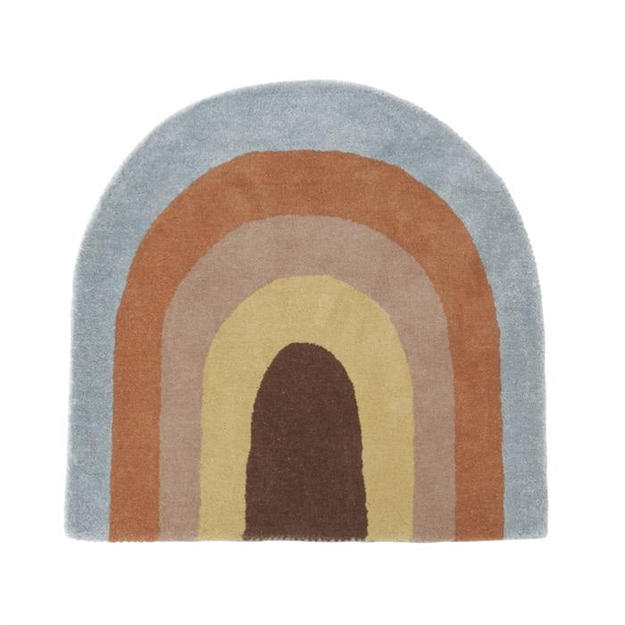 OYOY Living Design Rainbow Rug Floor Rug Play Mat
