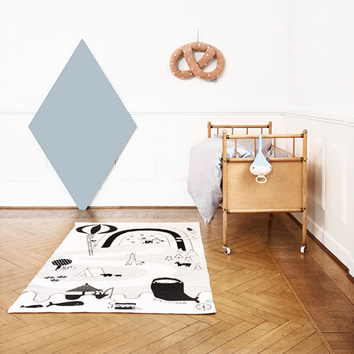 OYOY Mr. Megalodon Adventure Rug Play Mat from Milk Tooth