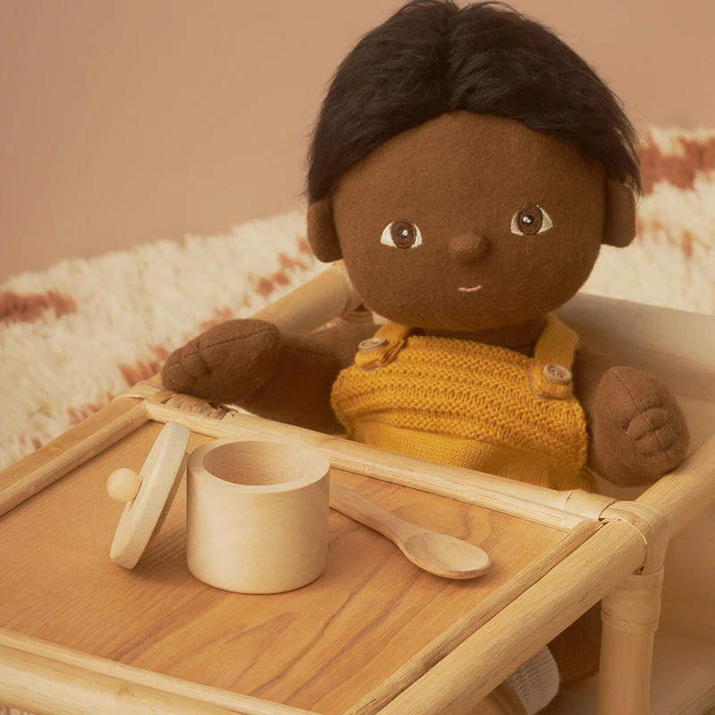 Olli Ella | Dinkum Doll Feeding Set | Wooden Toy