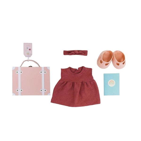 Olli Ella | Dinkum Doll Travel Togs | Rose