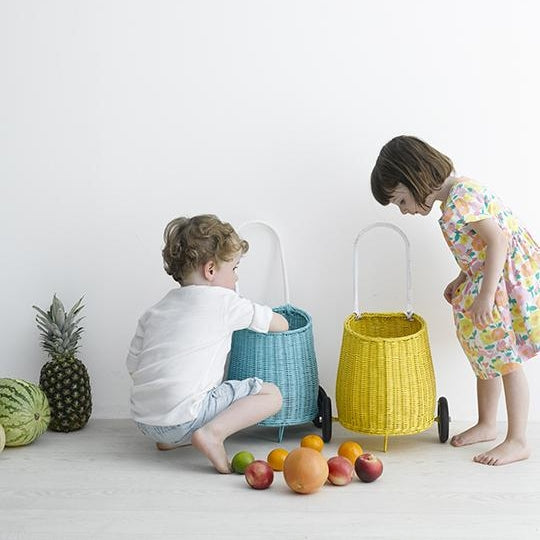Olli Ella | Luggy Basket | Yellow
