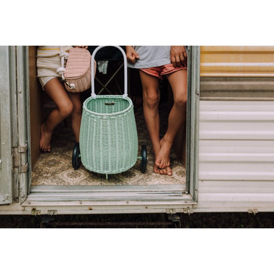 Olli Ella | Luggy Basket | Mint Green