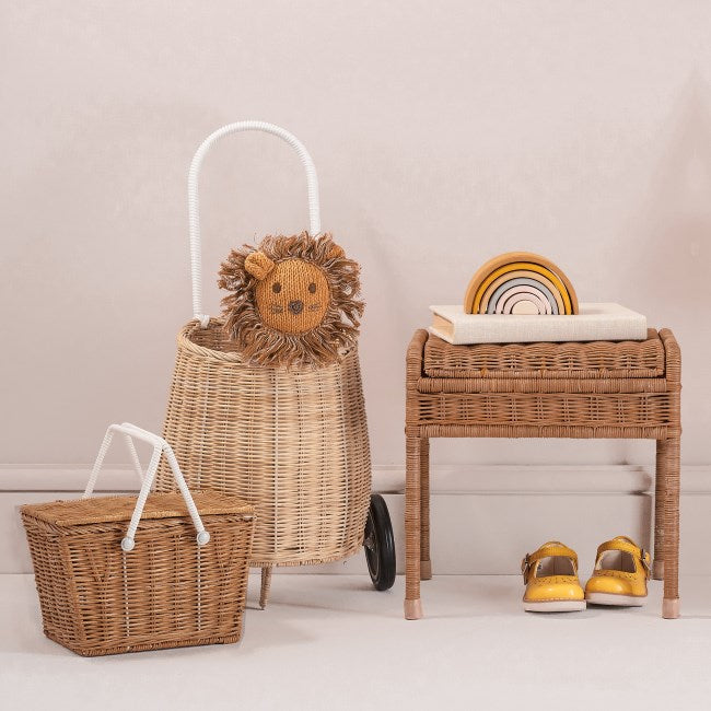 Olli Ella | Luggy Basket | Straw