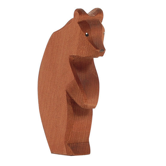 Ostheimer | Wooden Toy | Bear Standing Head Down