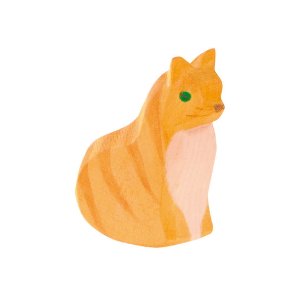 Ostheimer | Wooden Toy | Cat Sitting 11401