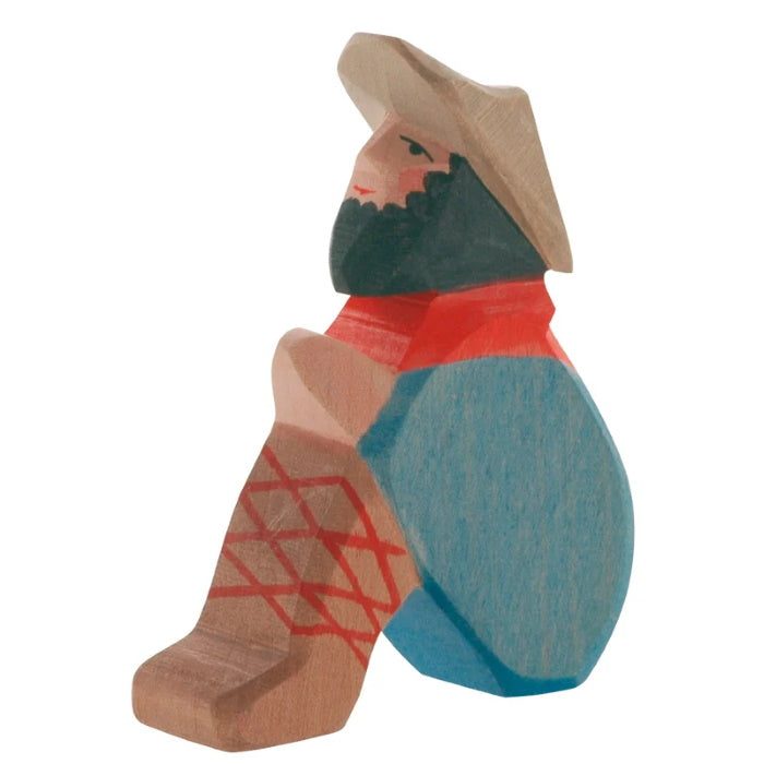 Ostheimer | Wooden Toy | People | Shepherd Sitting