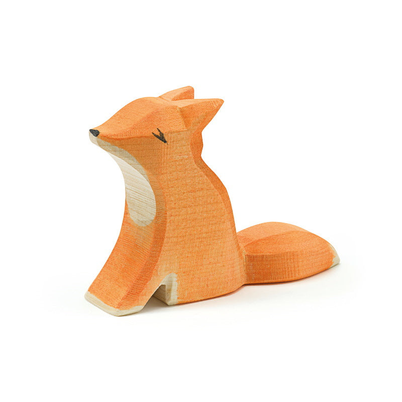 Ostheimer | Wooden Toy | Fox Small Sitting