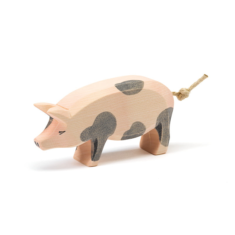Ostheimer | Wooden Toy | Spotted Pig Head High