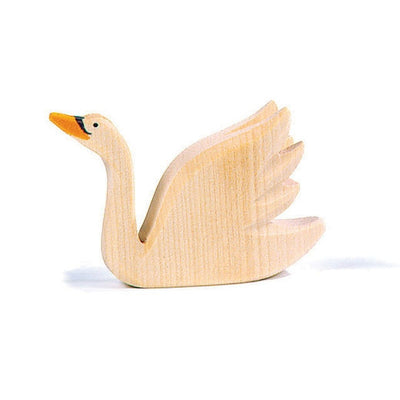 Ostheimer | Wooden Toy | Swan w/ Head Held High