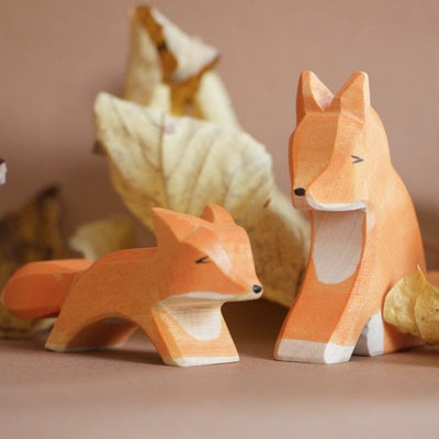 Ostheimer | Wooden Toy | Fox Small Running