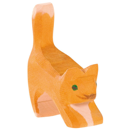 Ostheimer | Wooden Toy | Cat Small Head Low