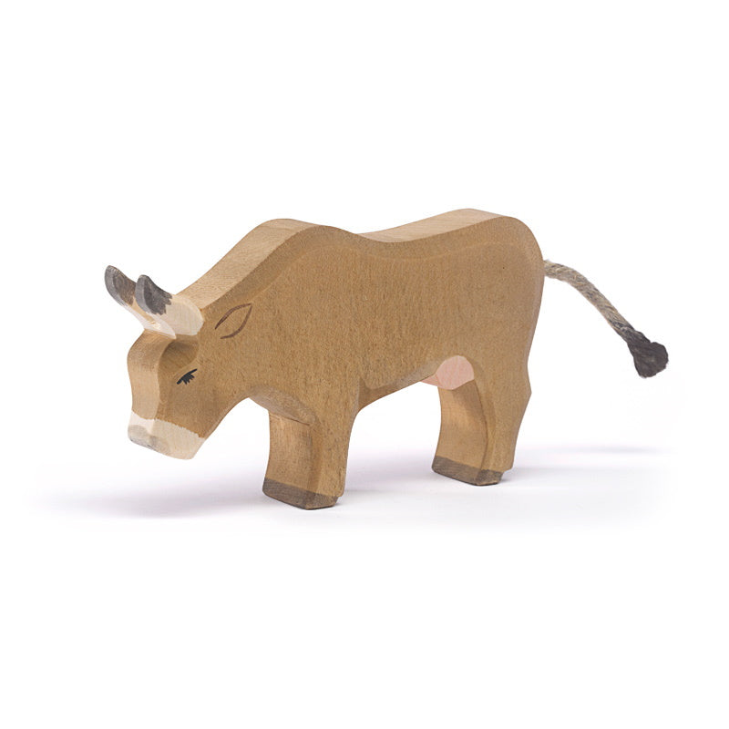 Ostheimer Wooden Toy Alp Cow Eating