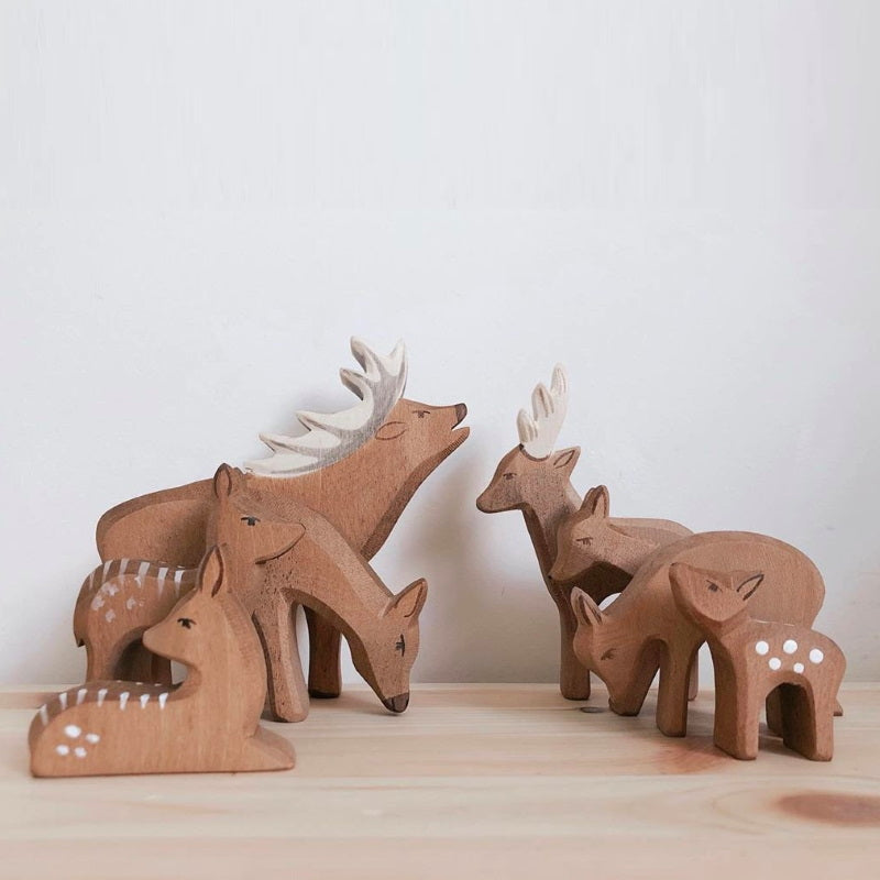 Ostheimer | Wooden Toy | Fawn Lying