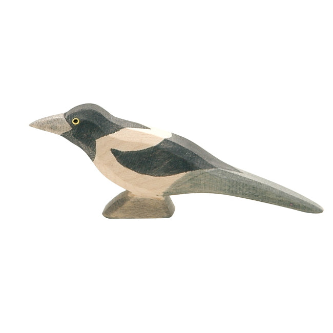 Ostheimer | Wooden Toy | Birds | Magpie