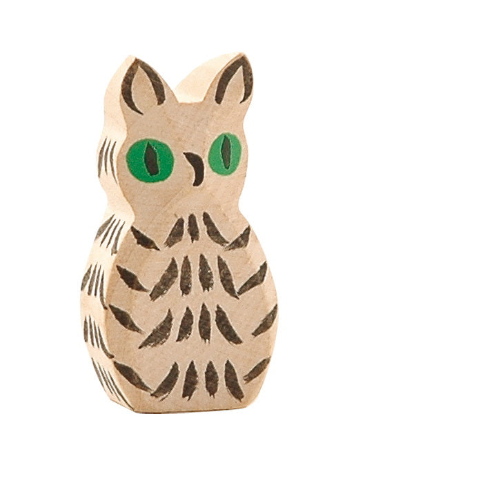 Ostheimer | Wooden Toy | Birds | Owl White