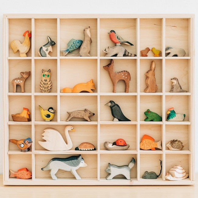 Ostheimer | Wooden Toy | Hen Brown On Nest