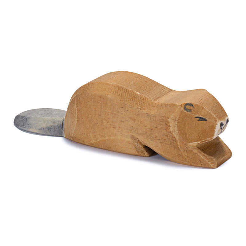 Ostheimer | Wooden Toy | Beaver Lying