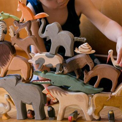 Ostheimer | Wooden Toy | Deer Eating