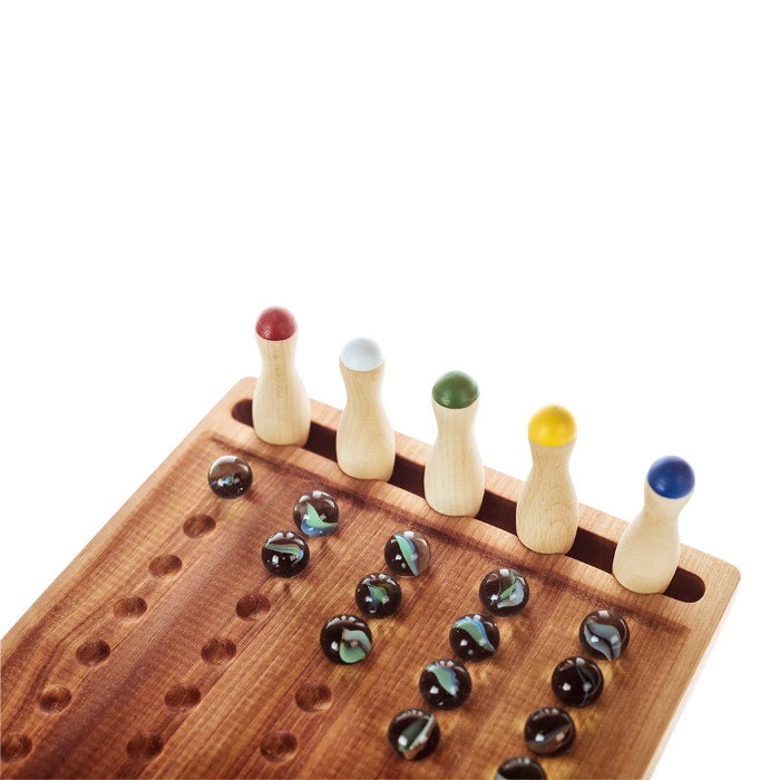 Pislik | Marble Counting Board | Wooden Mathematical Teaching Tool