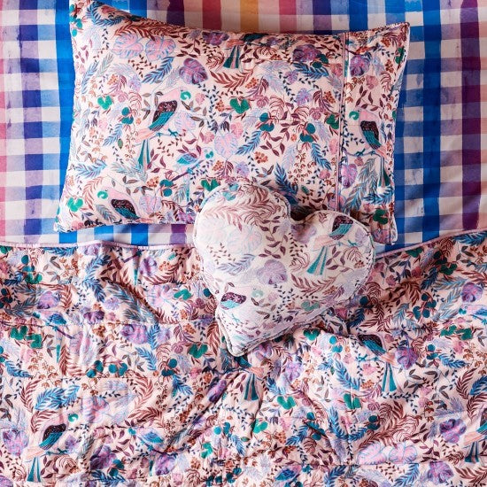Kip and Co | Quilted Bedspread Comforter | Single | LIttle Paradiso Musk