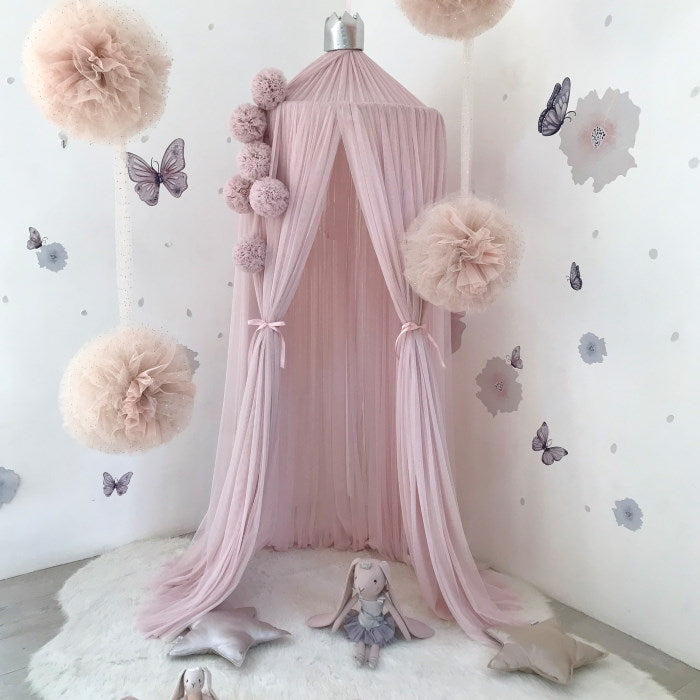 Spinkie Baby | Dreamy Canopy | Pale Rose Pink