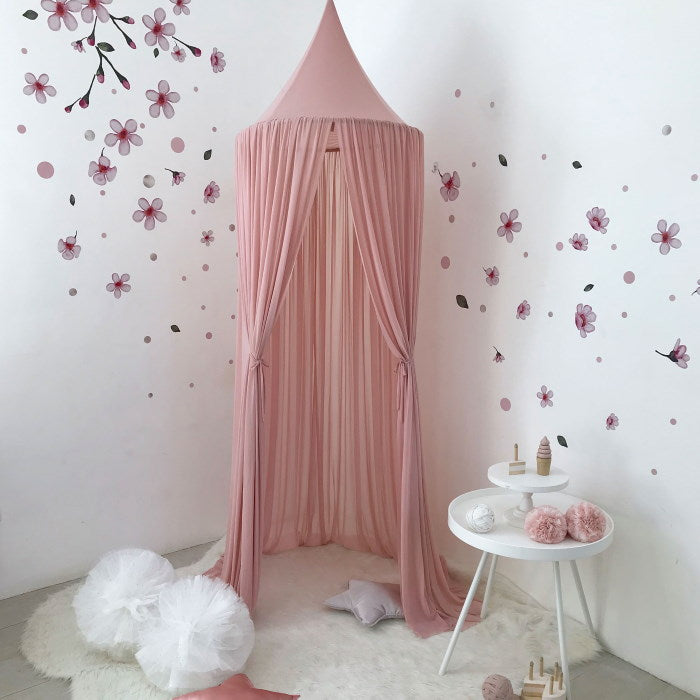 Spinkie Baby | Sheer Canopy | Dusty Pink