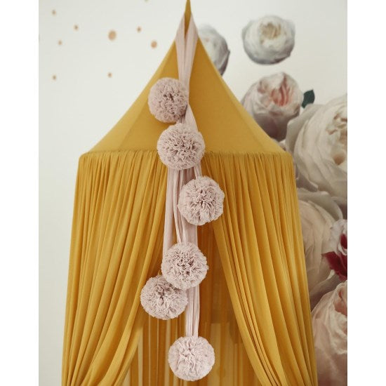 Spinkie Baby | Sheer Canopy | Mustard