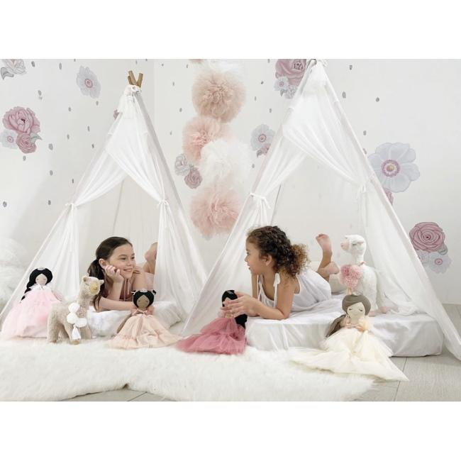 Spinkie Baby | Sheer Teepee | Cloud White