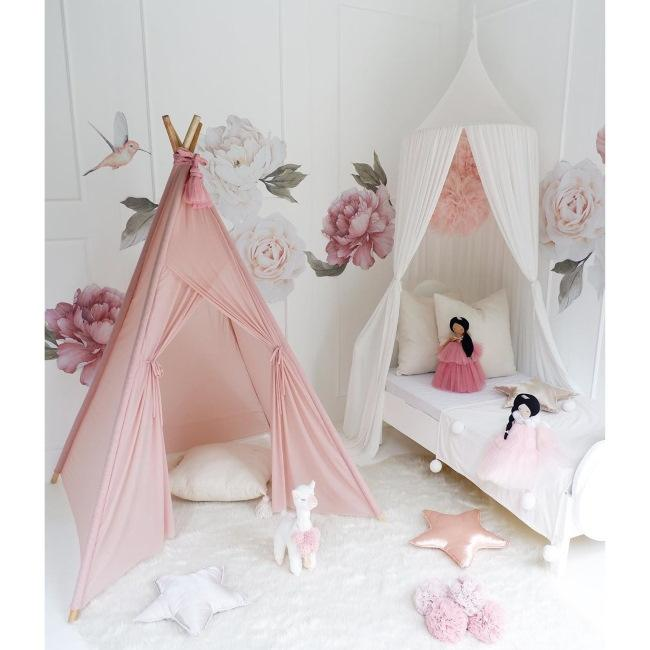 Spinkie Baby | Sheer Teepee | Dusty Pink