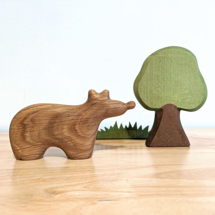 Tateplota | Wooden Toy | Bear Quincy