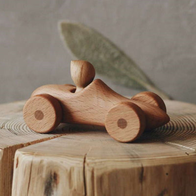 Tateplota | Timber Toy | Car with Driver Felix