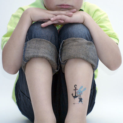 Tattyoo temporary art tattoo - Anchor Aweigh! by Anna Kövecses