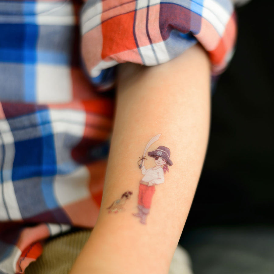 Temporary art tattoo by Tattyoo - Ellis & Easy by Belle & Boo