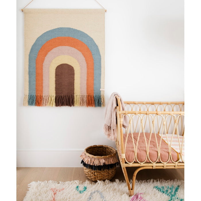OYOY | Follow The Rainbow | Wall Rug | PRE-ORDER