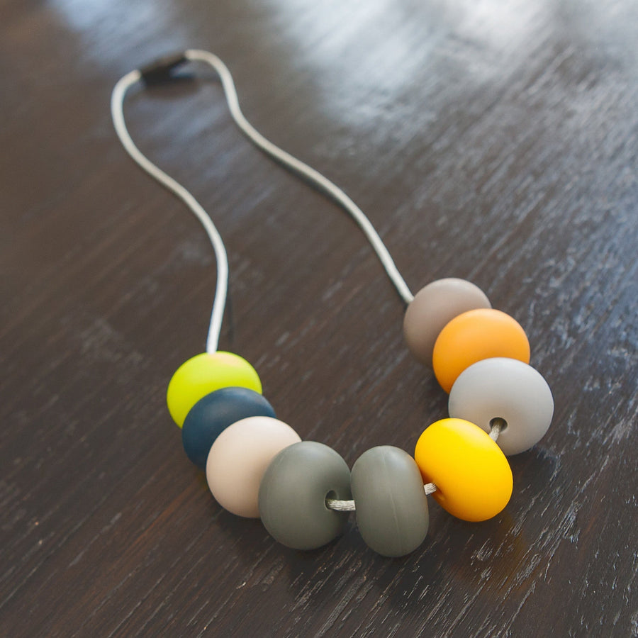 tiny and i - Silicone Bead Necklace - Daintree