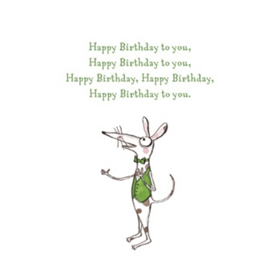 Twigseeds gift card - Happy Birthday to you