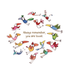 Twigseeds greeting card - Always remember