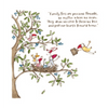 Twigseeds greeting card - Family ties are precious threads
