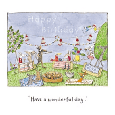 Twigseeds greeting card - Have a wonderful day