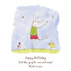 Twigseeds greeting card - Let the joy be unconfined