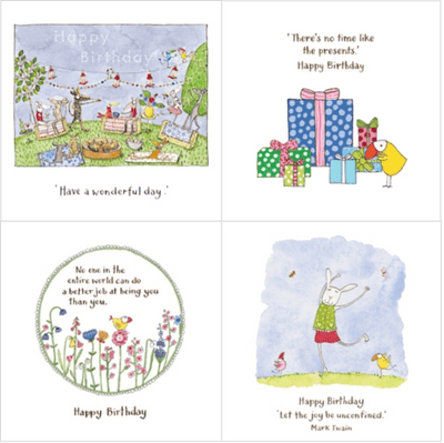 Twigseeds greeting card - Birthday series 2