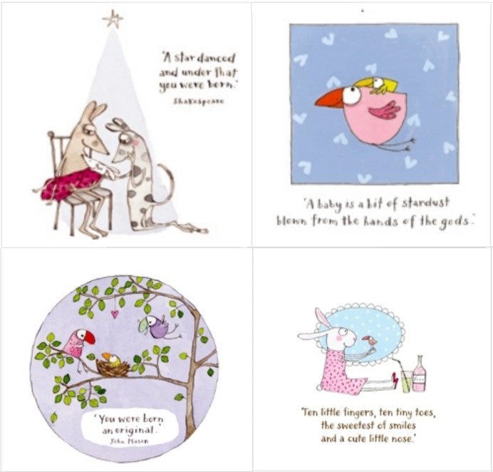 Twigseeds greeting card new baby series milk tooth twigseeds greeting card new baby series newborn card m4hsunfo