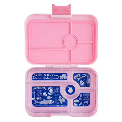 Amalfi Pink Yumbox Tapas 5 Compartment