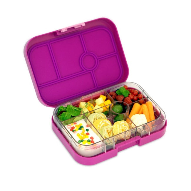 Yumbox | Original Lunch Box | Bento Box | Bijoux Purple | Milk Tooth