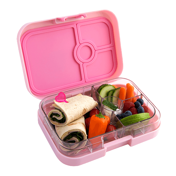 yumbox bento lunch box bahamas pink milk tooth. Black Bedroom Furniture Sets. Home Design Ideas
